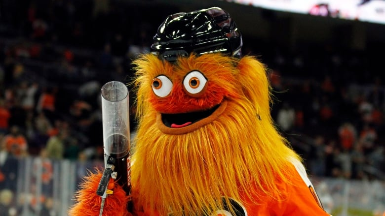 He is absolutely freaking horrifying': Meet Gritty, the