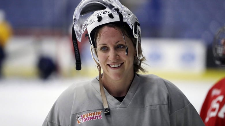 efb73a5ad80 Meghan Duggan captained the U.S. team that beat Canada for the gold medal  at the 2018 Olympics. (Carlos Osorio Associated Press)