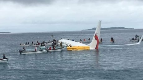 Micronesia crash