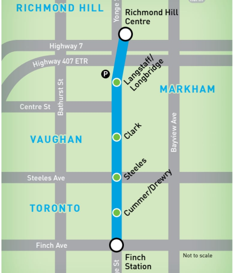 Ttc Subway Map 2018.A Subway Expansion Could Change Lives For Commuters In York Region