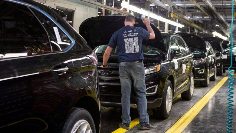 200 jobs on the chopping block at Ford's Oakville plant, starting in September