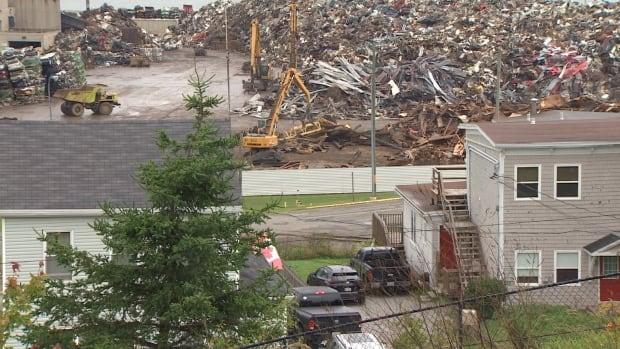Another blast from American Iron & Metal rocks part of Saint John