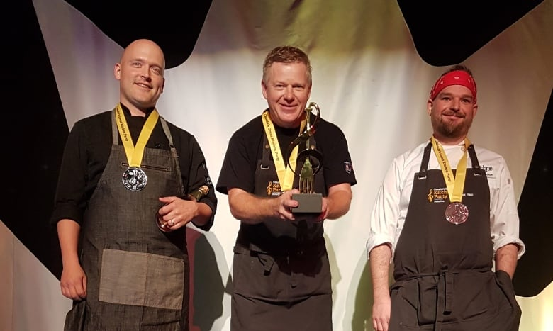 P E I  chef Irwin MacKinnon to compete at national