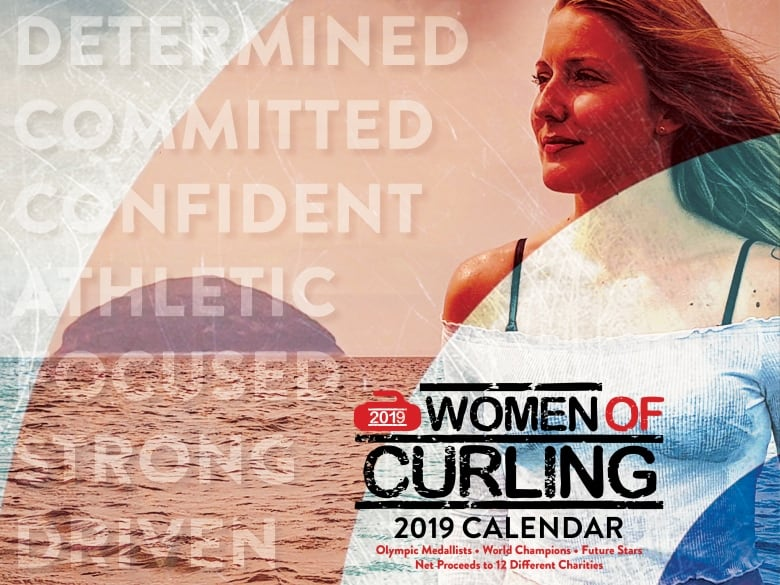 Scotlands Laura Gray Is Featured On The Cover Of The 2019 Women Of Curling Calendar -7353