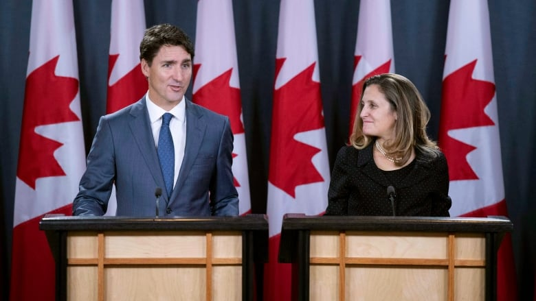 Trump Trudeau Praise Usmca Trade Deal They Say Will Grow Middle