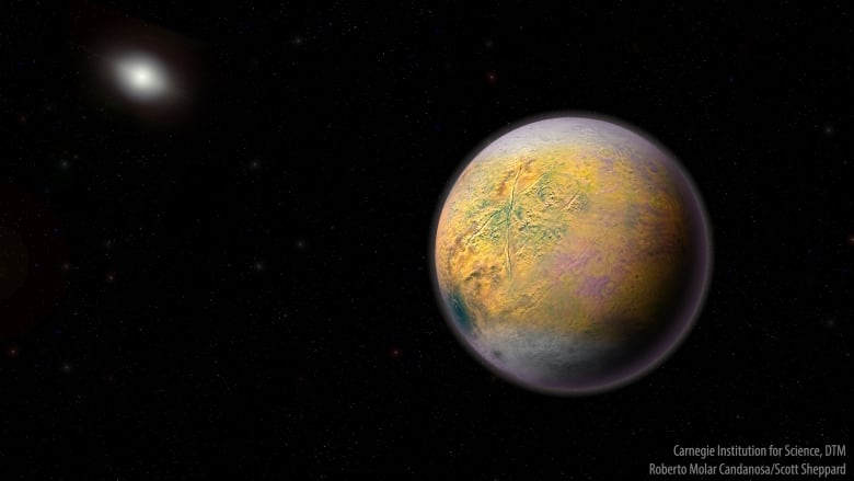 In the Solar system have discovered a new dwarf planet