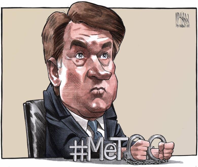 Vancouver Artist S Cartoon Of Florida School Shooting: Bruce MacKinnon's Editorial Cartoon From September 28