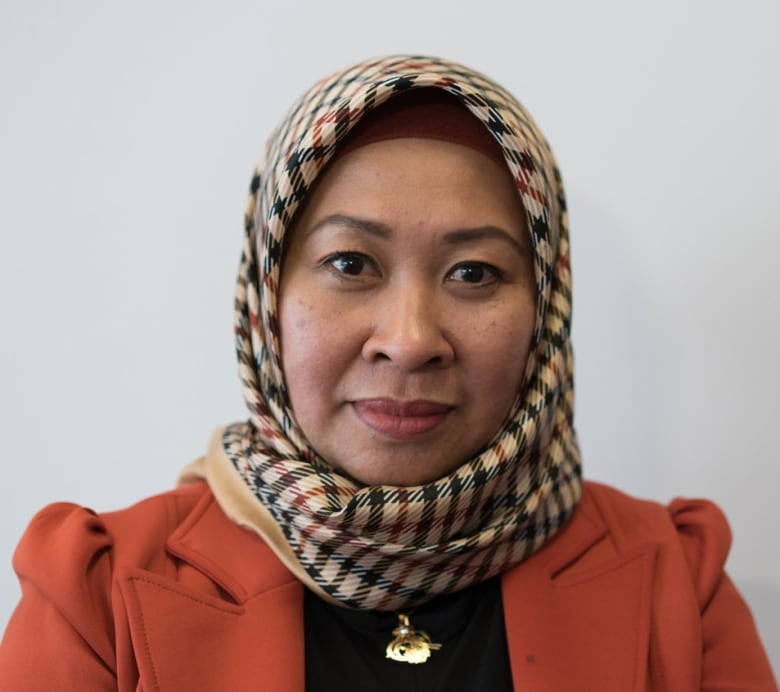 Many of Ida Rafiqah's family members including her mother live on the island of Sulawesi