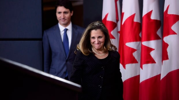 Trudeau urged to give Freeland domestic portfolio, name her deputy PM
