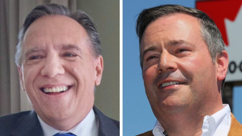 Francois Illas New Tradition: Alberta UCP Leader Jason Kenney, Right, Has Congratulated