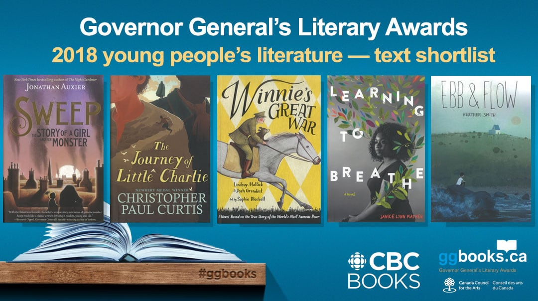 Here are the finalists for the 2018 Governor General's Literary