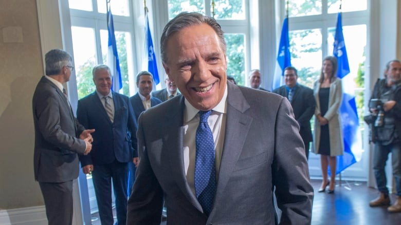 François Legault is now fan of hijabs at the workplace