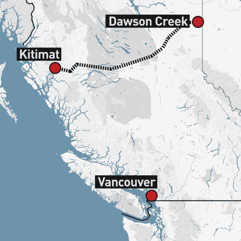 $40B LNG project in northern B C  gets go-ahead | CBC News
