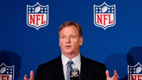 NFL commissioner Goodell praises Trump for trade deal's Super Bowl connection