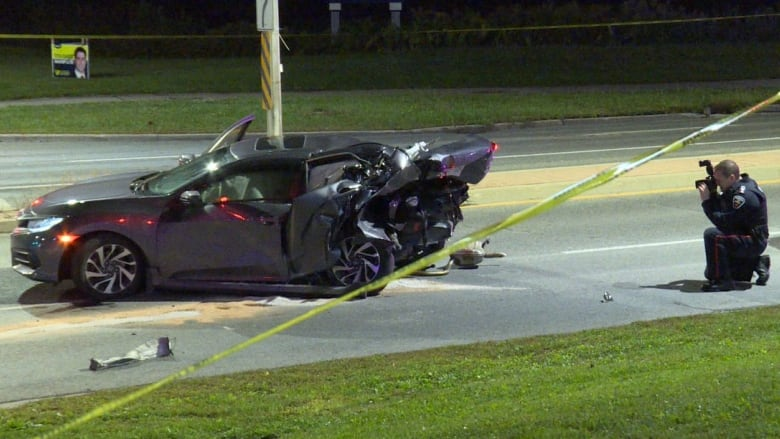 Male foreign student, 24, dead after Oshawa crash, 1 in custody