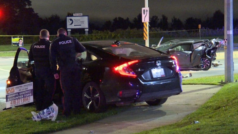 Male foreign student, 24, dead after Oshawa crash, 1 in