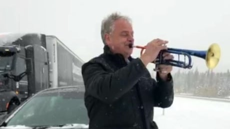 From Highway 1 to Madison Square Garden: Alberta trumpet soloist to play the Big Apple   CBC
