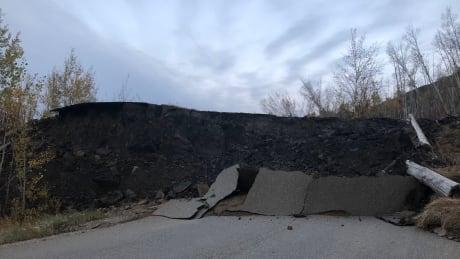 Old Fort landslide