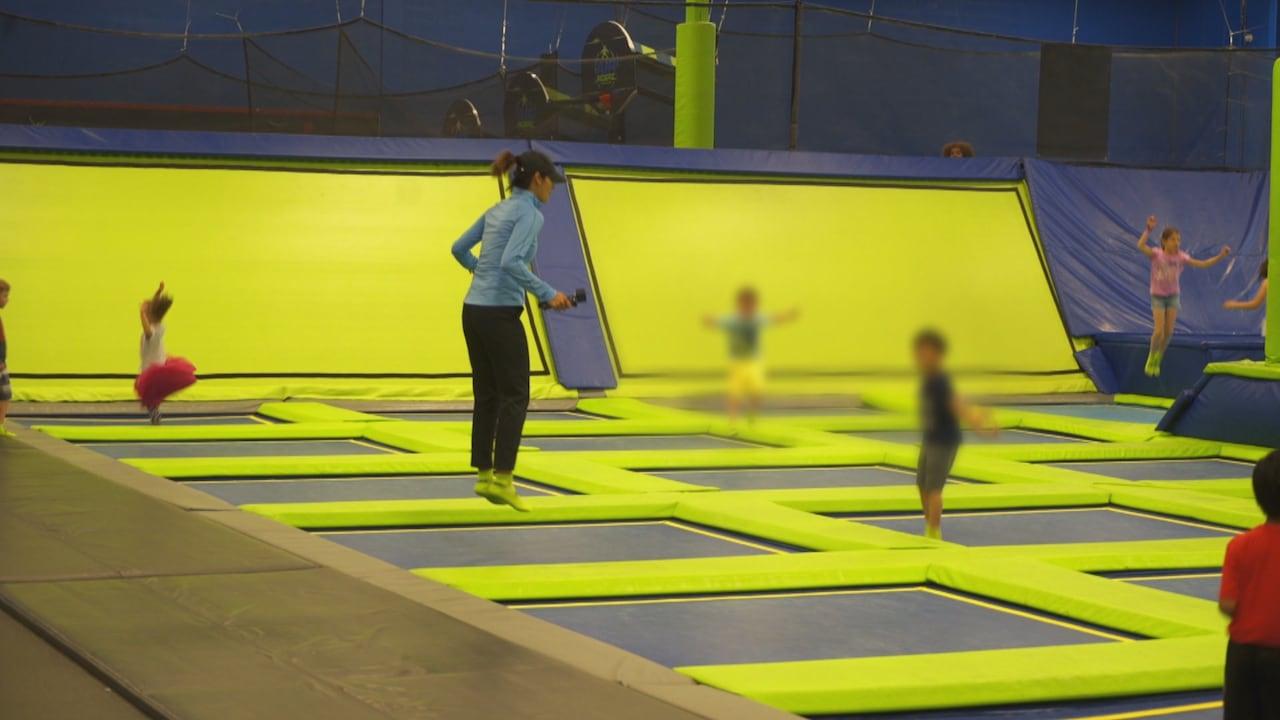 Hidden camera reveals trampoline parks ignoring dangerous