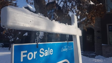 Calgary Real Estate For Sale sign