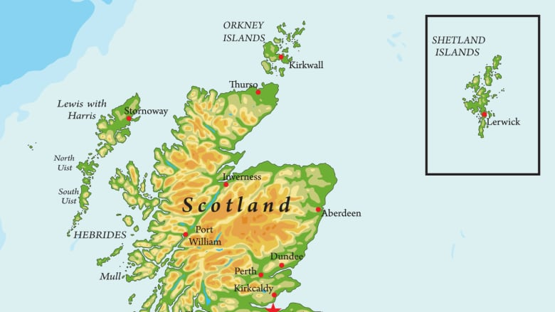 Map Up.Scottish Map Law Bans Putting Shetland In A Box To The Delight Of