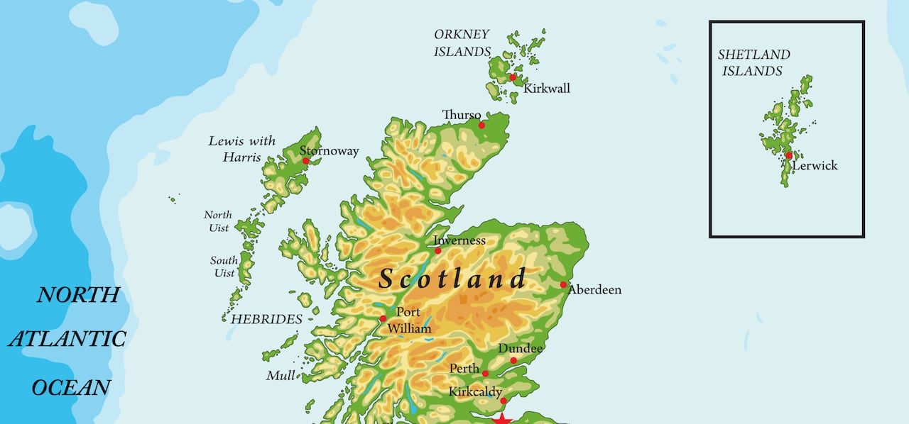 Scottish map law bans putting Shetland in a box — to the ...