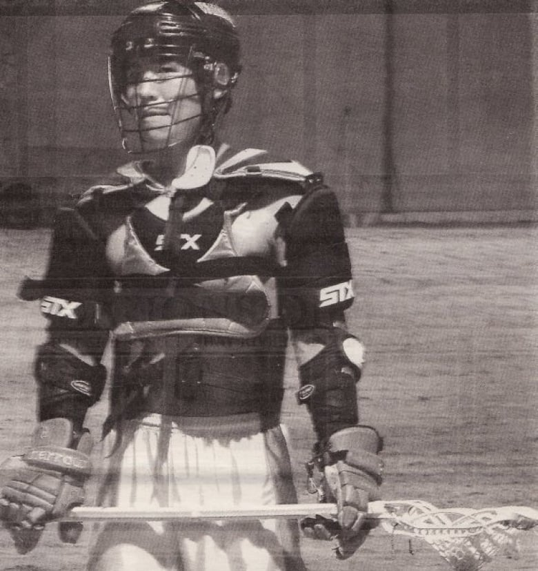 Meet one of the real lacrosse players behind the film The