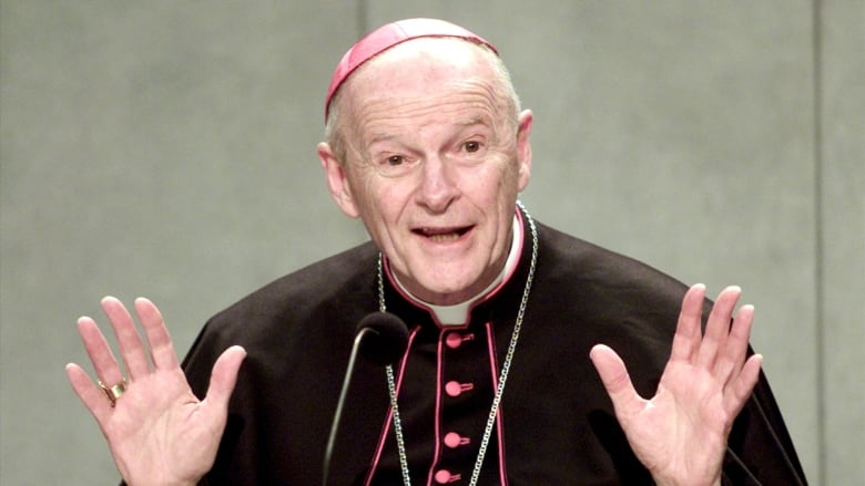 Pope Francis pledges 'thorough' study of Vatican archives on McCarrick
