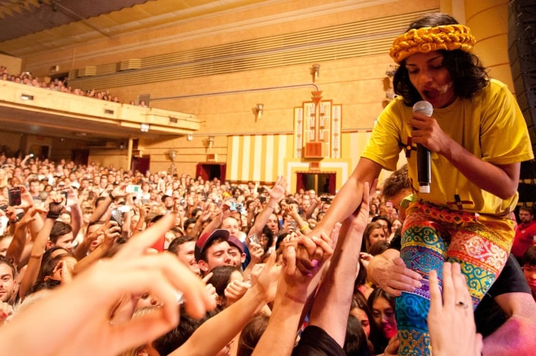 'I'm an artist that draws on real life': How M.I.A. got her name and political persona 72763964