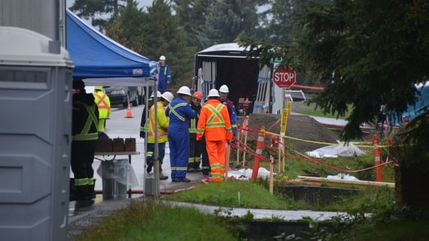 Odour, gasoline-like substance that shut down Trans Mountain section traced to a residence, province says