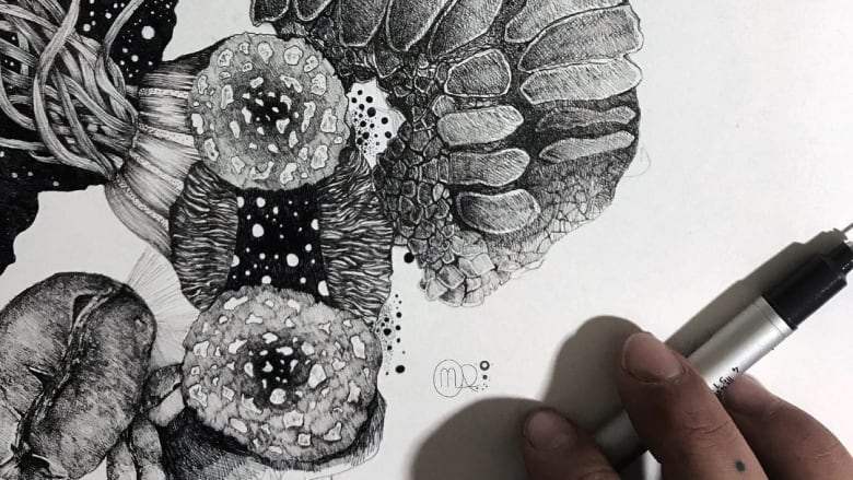 it s inktober follow these artists from around the country cbc arts