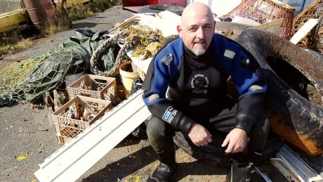 Harbour hero: Twillingate scuba diver determined to rid ocean of garbage