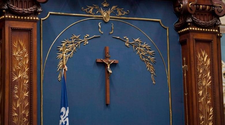 Crucifix Represents Christian Values But Isnt A Religious Symbol