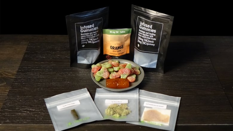 At least a dozen websites are selling cannabis edibles