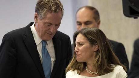 From clashes to candy, the evolution of Chrystia Freeland's relationship with her U.S. trade counterpart