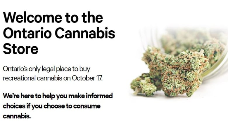 ontario s online weed store will ship with canada post with a 5