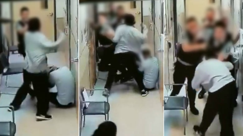 Sedating a violent patient video
