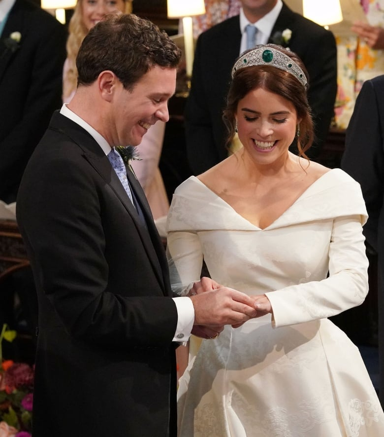 Princess Eugenie Wedding Televised.Princess Eugenie Marries In 2nd Big U K Royal Wedding Of The Year