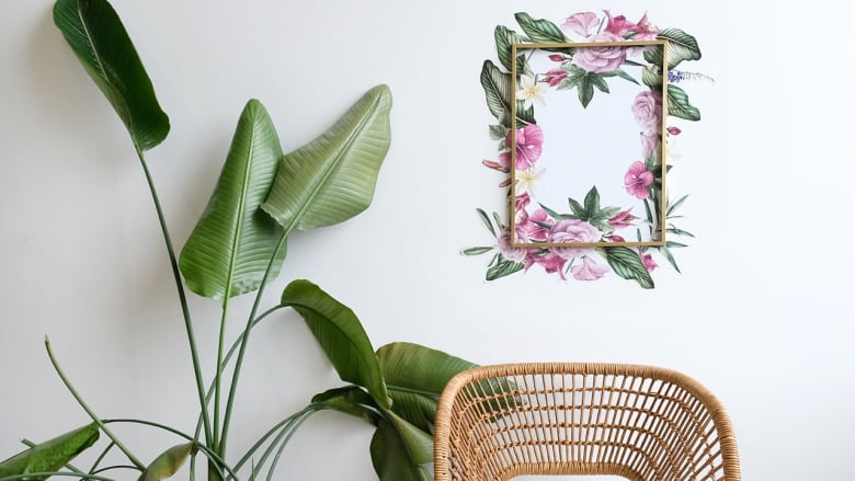 Think outside the frame with this DIY wall decal art | CBC Life