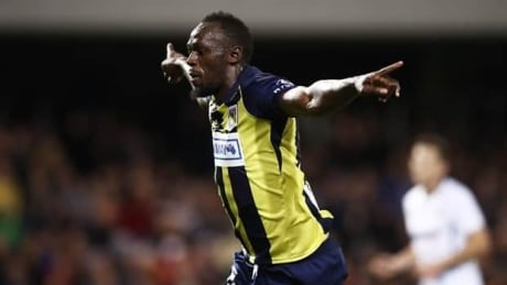 Usain Bolt Strikes Twice For Australian Soccer Team