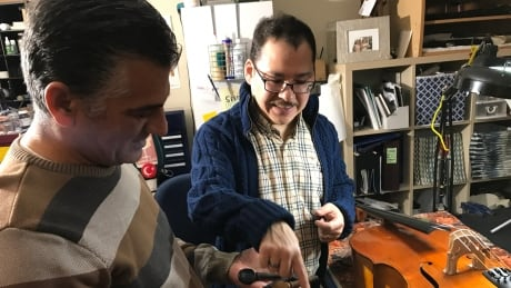 The Cellist, The Luthier, and the Bullet Cello