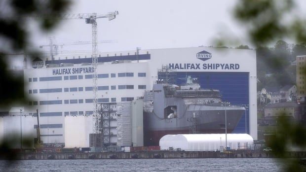Self-isolation exemption prompts work refusal at Irving Shipyard | CBC News