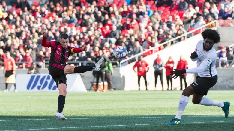 9790f5b7182 Ottawa Fury FC fell 2-0 to the Charleston Battery in their final game of  the United Soccer League 2018 season on Oct. 13
