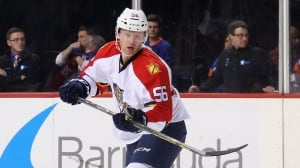 Panthers' Matheson to have hearing for hit on Canucks' Pettersson