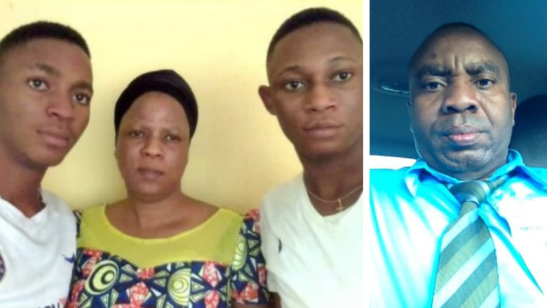 Widow of Nigerian man who died while being deported