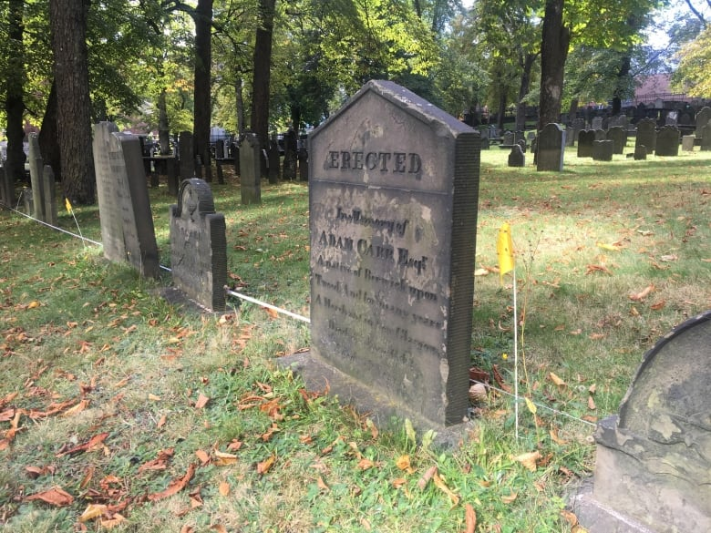 High-tech devices help archeologists uncover Old Burying Ground's secrets