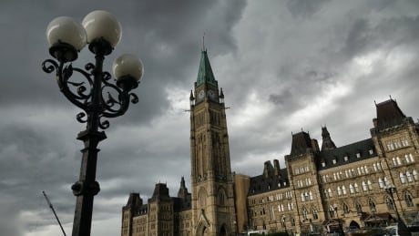 clouds cloudy parliament hill centre block peace tower ottawa overcast
