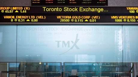 TSX up slightly as loonie rises
