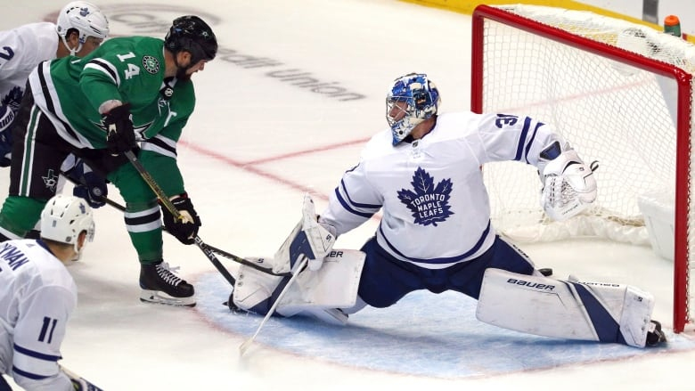 Andersen questionable for Maple Leafs' next game