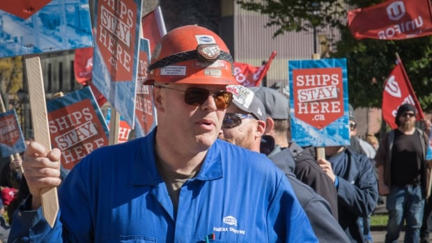 Irving Shipyard workers say sharing navy contracts with Davie will mean layoffs ...